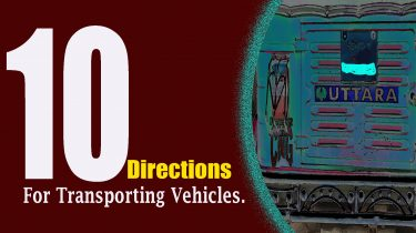 10 Directions Transporting Vehicles.