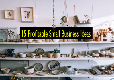 15 small and profitable business ideas